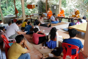 Students at a Forest Temple - Chaiyaphum, Thailand