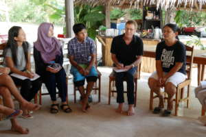 Meeting with an Environmental Activist in Thailand