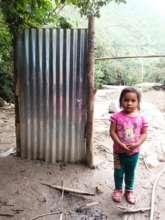 What was left after the landslide