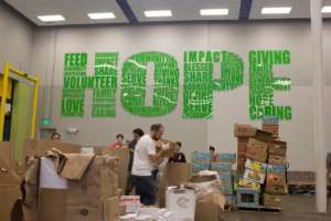 Houston Food Bank- Harvey relief and recovery