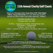 PFK's 11th Annual Charity Golf Classic in LA!