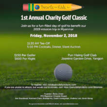 PFK Myanmar's 1st Annual Charity Golf Classic