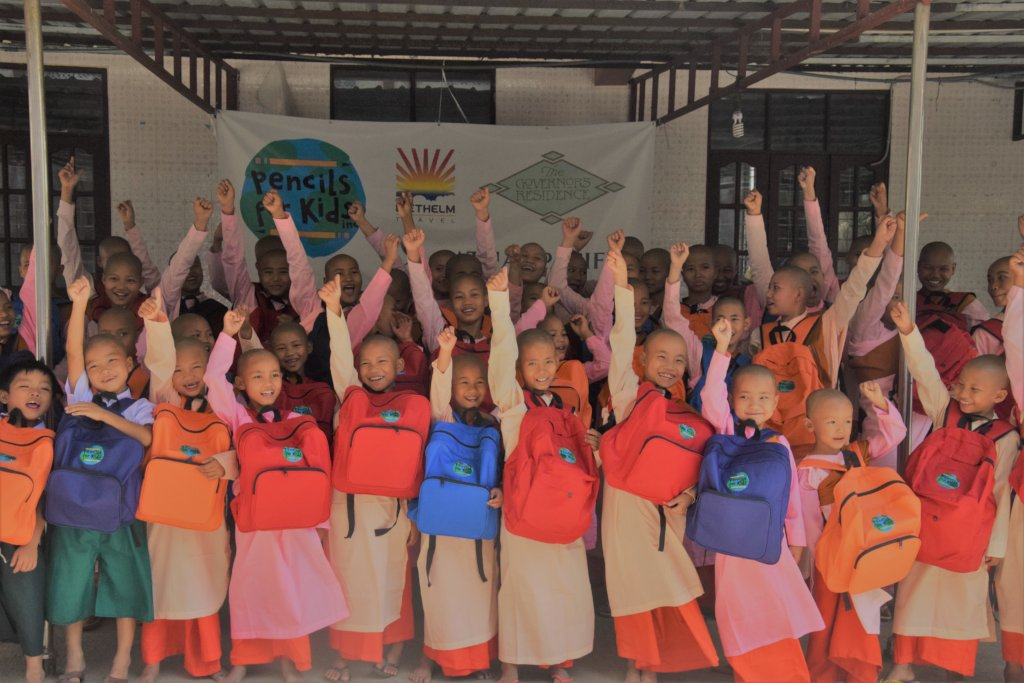 Provide School Supplies To 500 Kids In Myanmar!