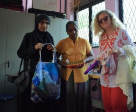 Sewing teachers with example products