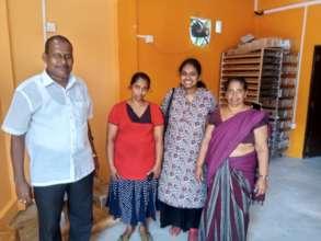 Uma meeting our team