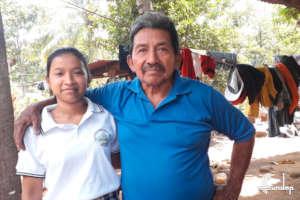 Cadiola and her grandpa