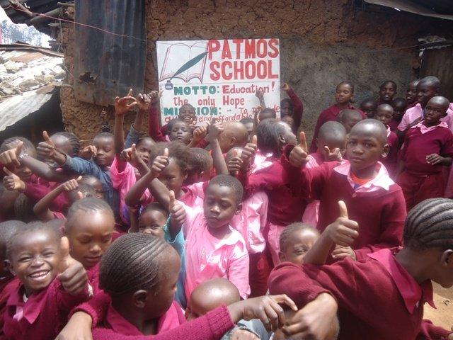 Help Feed 300 Pupils in Patmos Mathare Slums-Kenya