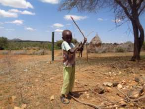 Mutu, a nursery school beneficiary