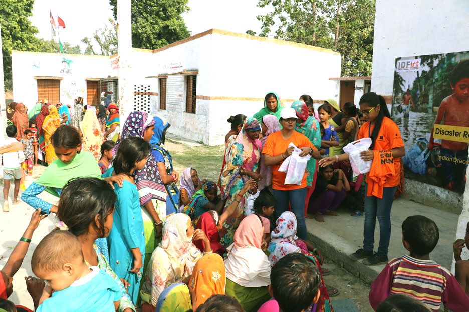 Support Hygiene Supplies to Flood Affected Women