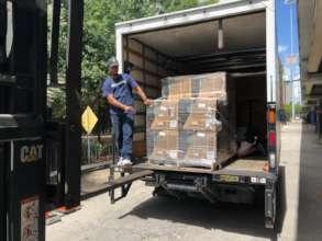 Unloading in Houston