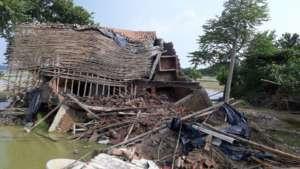 Devastation in villages