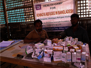 Medicine kept for distribution