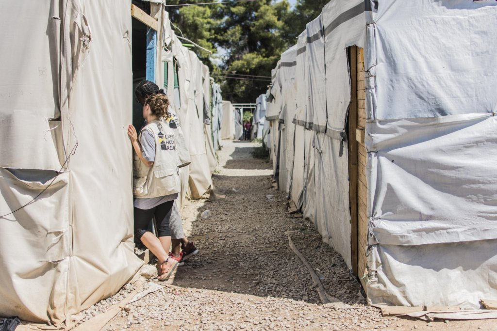 Advance Relief Efforts for Refugees in Greece