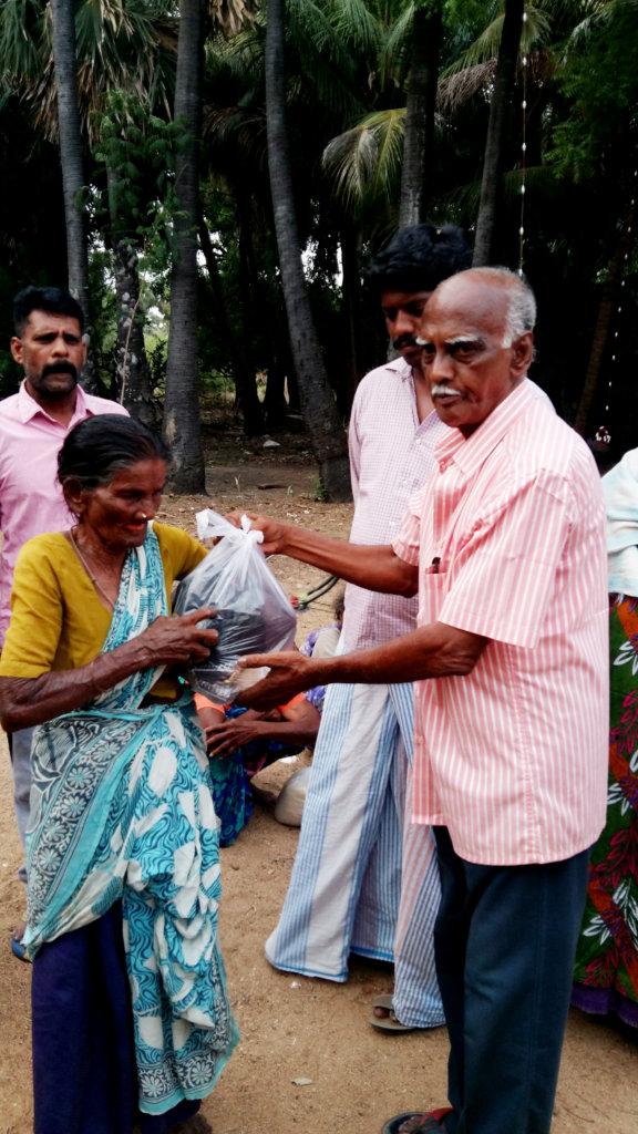 Food Groceries to 78 Neglected Elder,Leper Cured