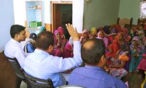 Govt. Officers visited & Interaction with SHGs