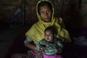 Reshma, a refugee. By: Abir Abdullah (Concern)