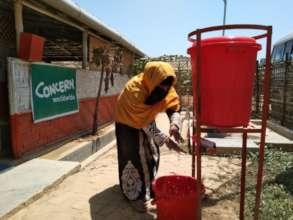 Handwashing in Cox's Bazar
