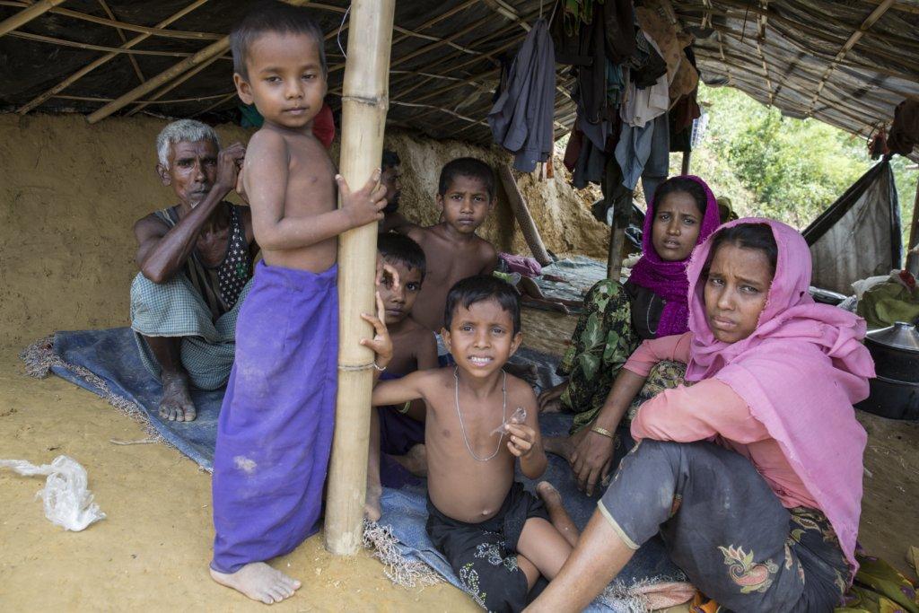 Assist Rohingya Refugees in Bangladesh