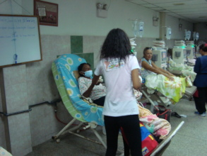 Dialysis patients get nutritious meals in hospital