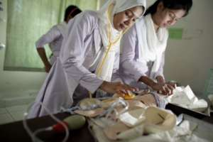 HOPE Foundation's Midwifery training program