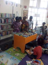 Children and librarians learning together