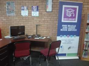 The Mini-Library at the Suurman Community Library