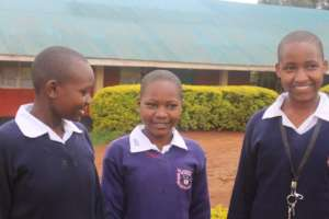 students from St. Andrews, Nyasore, engaging
