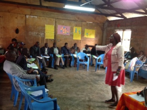 Dr. Grace, Facilitating on the FGM Health Effects