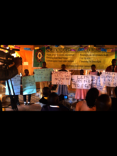 Children commit to say NO to FGM