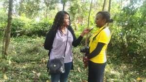 Teresiah speaking about HFAW journey in ending FGM
