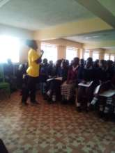 Students are attentive whil learning their rights