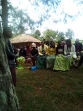 Gachuba Youths Listening during a session