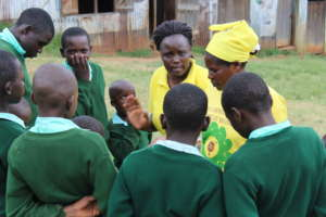 Boys are also mentored on women issues and FGM