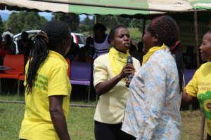 Mothers (CHHRP) performing anti-FGM skit
