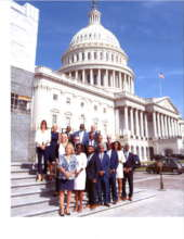 Deanna James, President, advocates on Capitol Hill