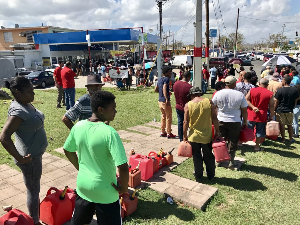 FUEL RELIEF - HURRICANE MARIA
