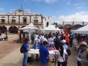 Medical Brigade in Jojutla, Morelos HOPE Worldwide