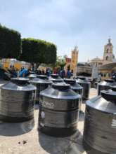 Delivery of 20 systems in Puebla