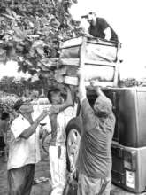 Delivering aid to hard-to-reach communities