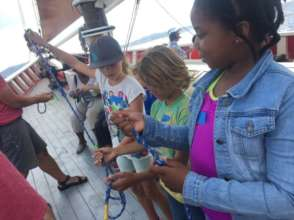 Learning Aboard the Roseway Schooner