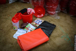 Shelter and hygiene kit