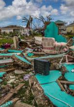 Codrington after Hurricane Irma