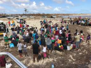 Residents evacuating from Barbuda
