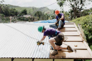 CGI Roof Work in Barranquitas