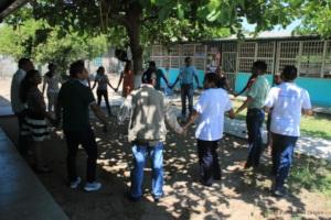 Psychological First Aid training in Niltepec