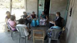Our team speaks with survivors in southern Oaxaca