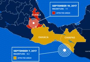 September 2017 Mexico Earthquakes