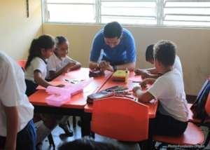 Psychosocial awareness at a school in Tehuantepec
