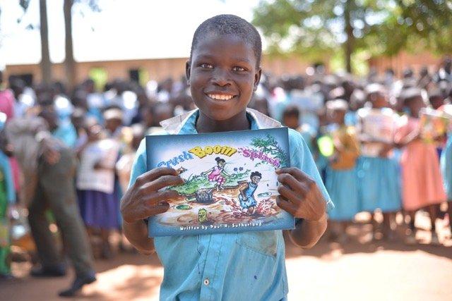 20,000 Books for Children in Rural Uganda