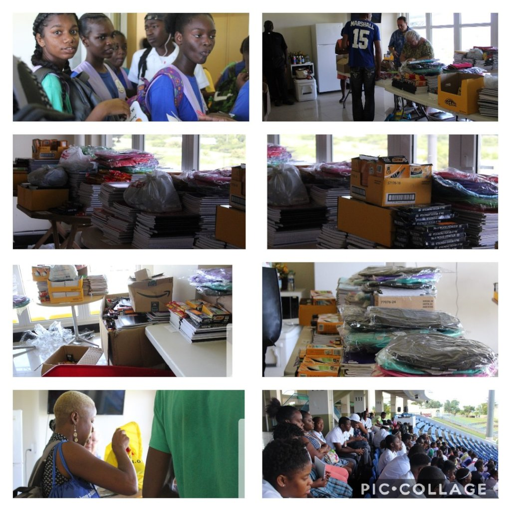 Students in Need of Basic School Supplies.